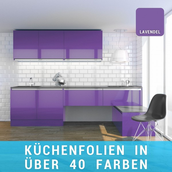 Küchenfolie lavendel