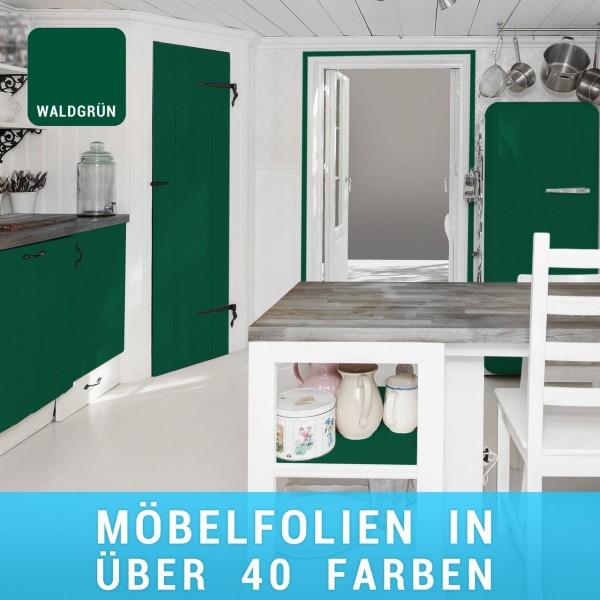 Möbelfolie Waldgrün