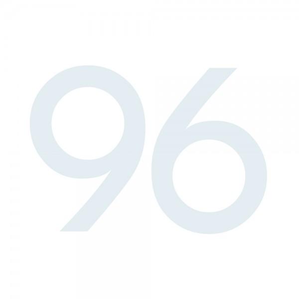 Zahlenaufkleber 96 weiß