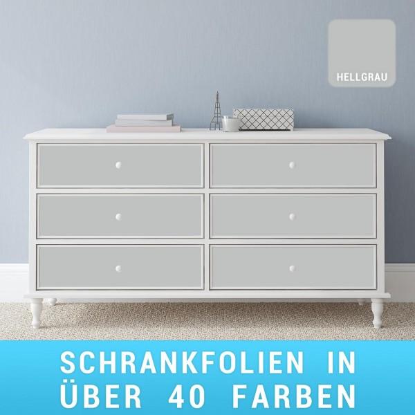 Schrankfolie hellgrau