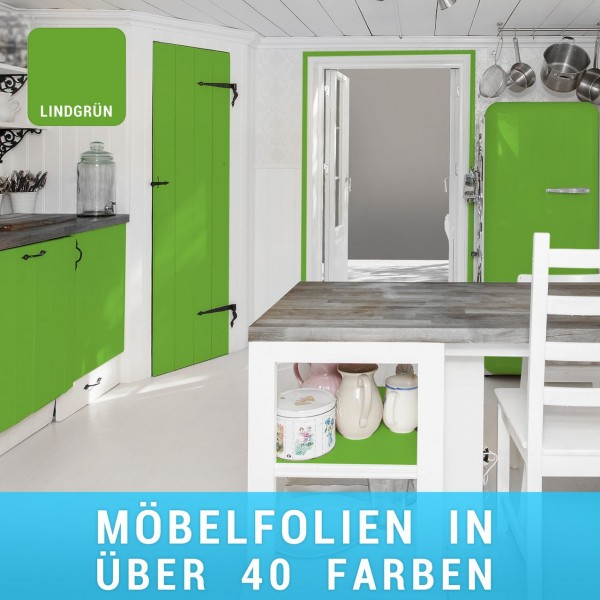 Möbelfolie Lindgrün