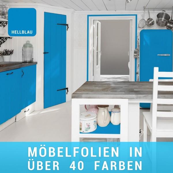 Möbelfolie Hellblau