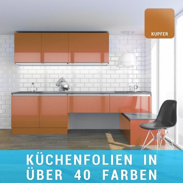 Küchenfolie kupfer