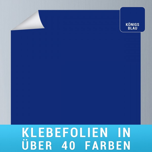 Klebefolie königsblau