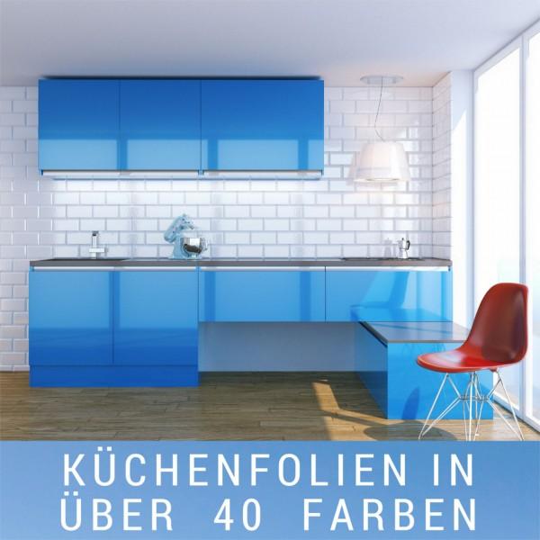 Küchenfolie nach Maß 1qm - Farbauswahl