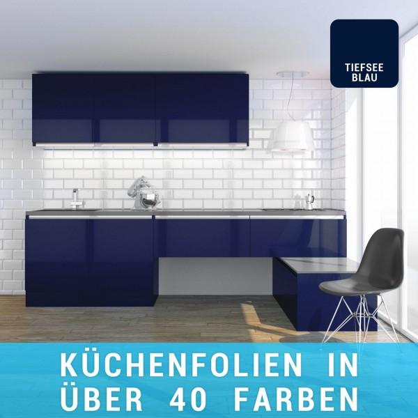 Küchenfolie tiefseeblau