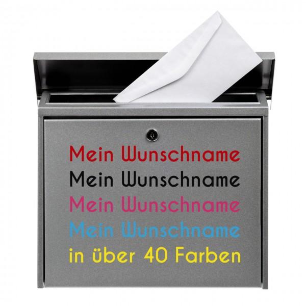 Briefkastenaufkleber max. 20cm Länge