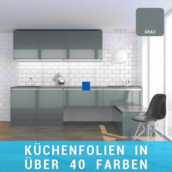 Küchenfolie grau
