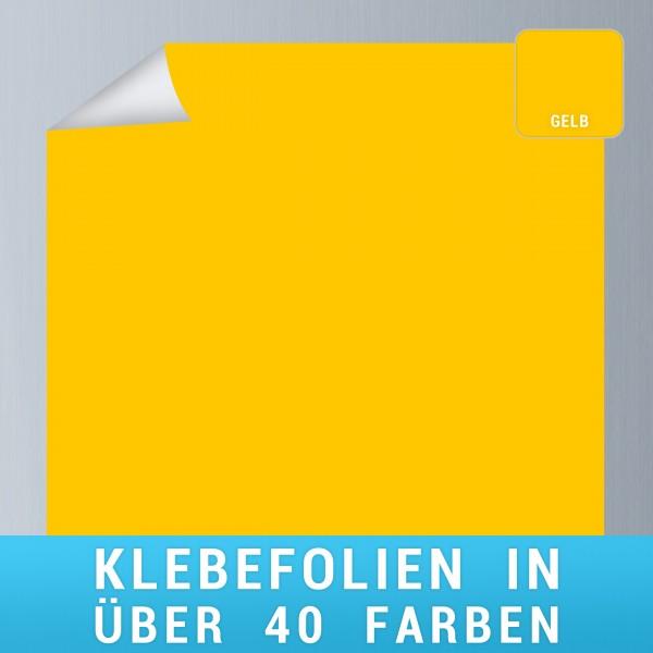 Klebefolie gelb