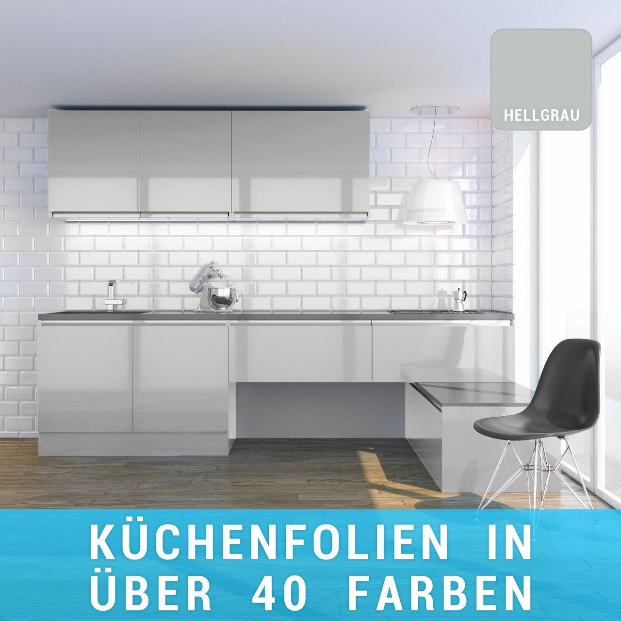 Küchenfolie hellgrau online bestellen   stickerhelden.de
