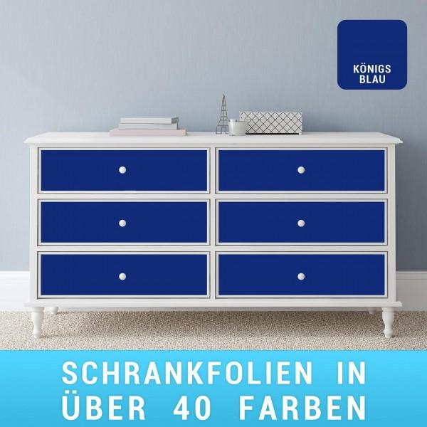 Schrankfolie königsblau