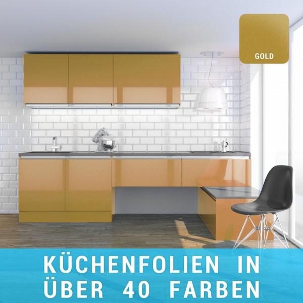 Küchenfolie gold