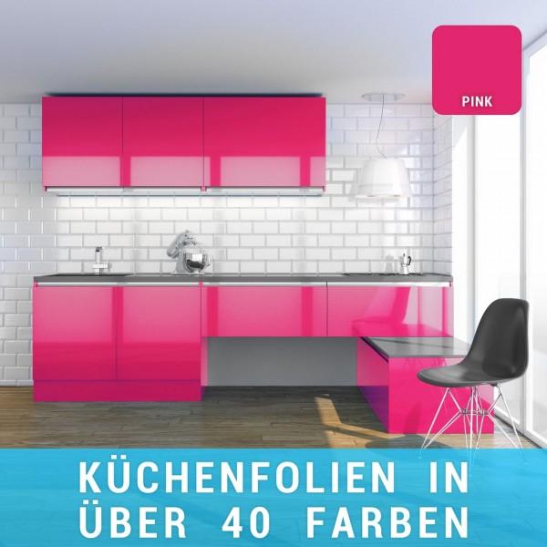 Küchenfolie pink