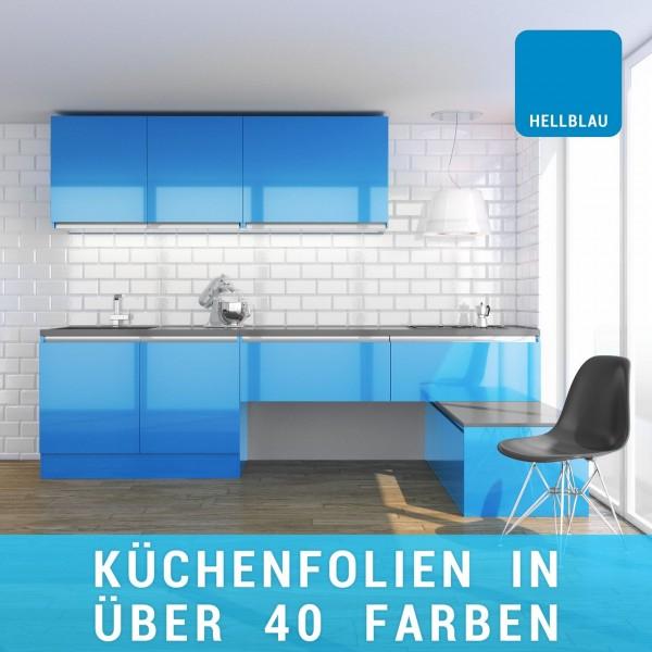 Küchenfolie hellblau