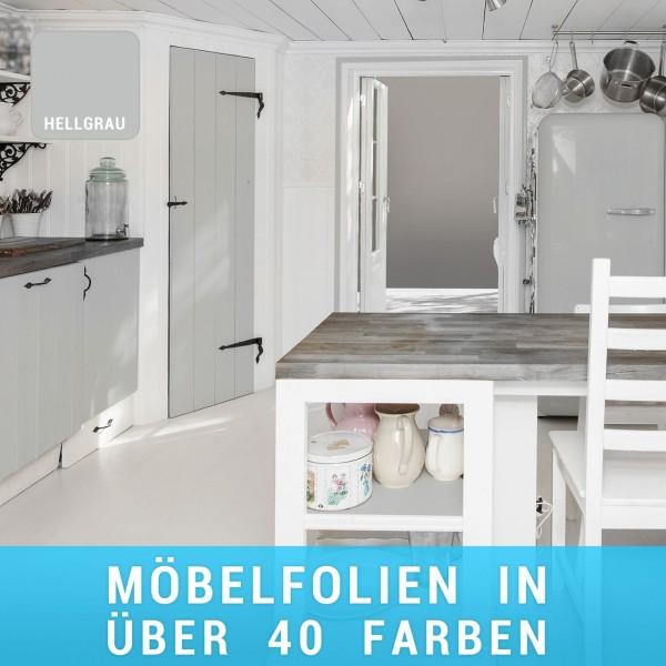 Möbelfolie Hellgrau