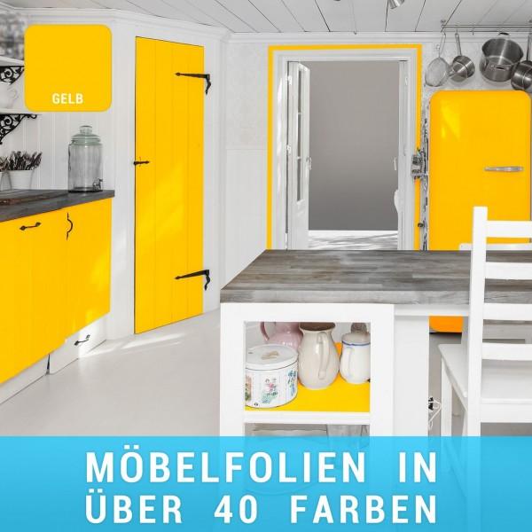 Möbelfolie Gelb