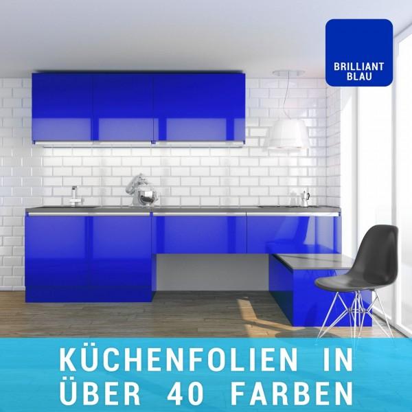Küchenfolie brilliantblau