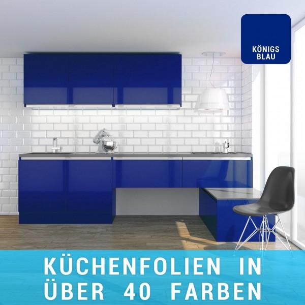 Küchenfolie königsblau
