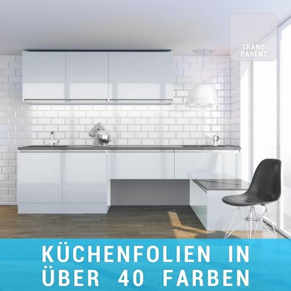 Küchenfolie transparent