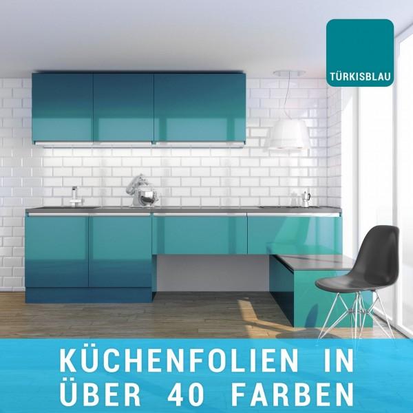 Küchenfolie türkisblau