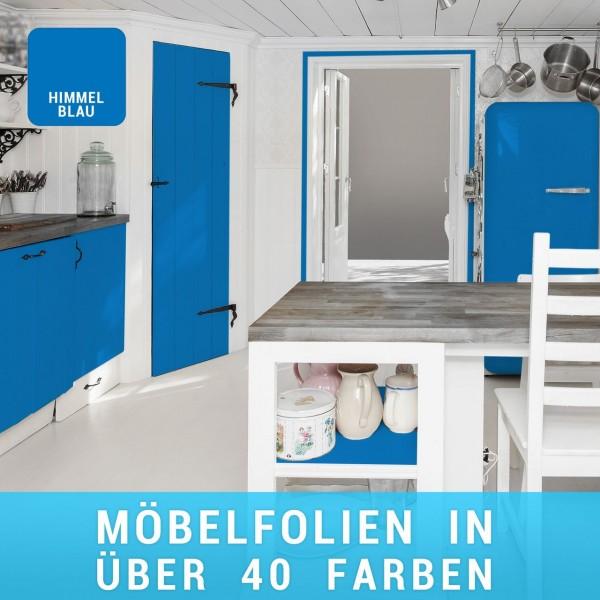 Möbelfolie Himmelblau