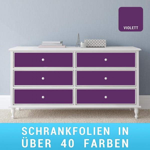 Schrankfolie violett
