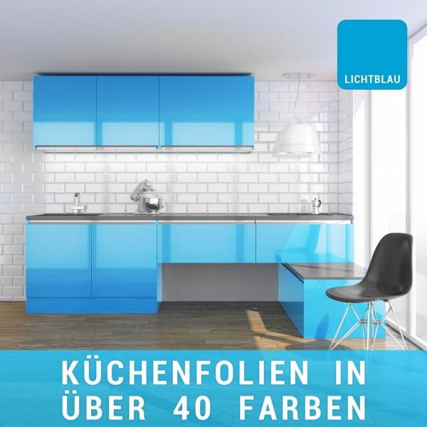 Küchenfolie lichtblau
