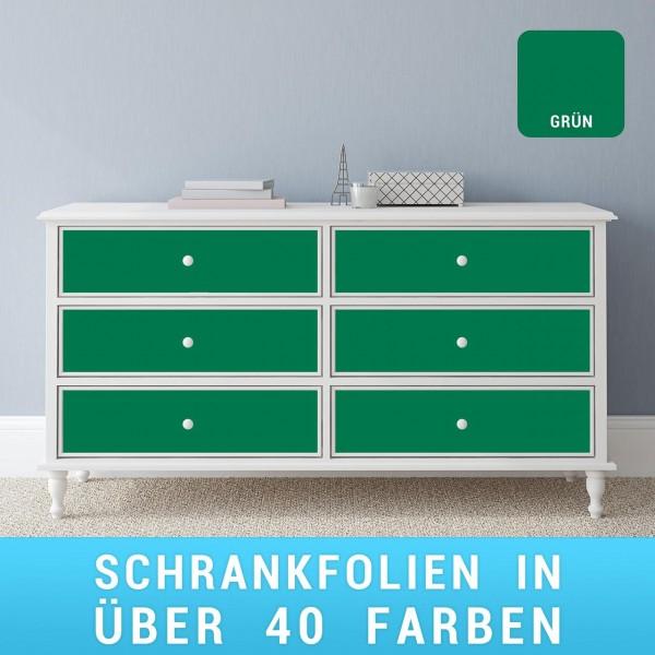 Schrankfolie grün