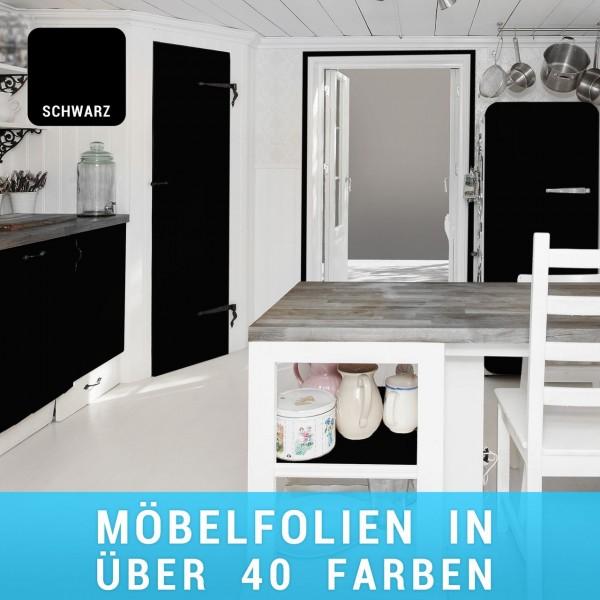 Möbelfolie Schwarz