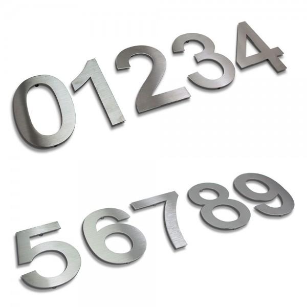 Hausnummer Edelstahl 498