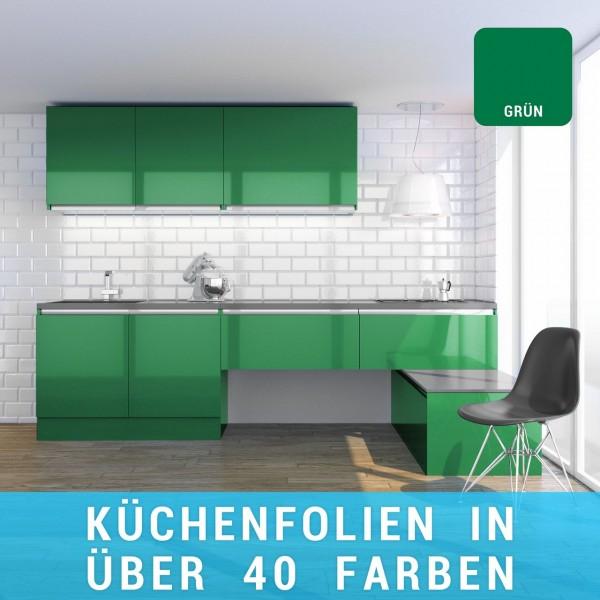 Küchenfolie grün