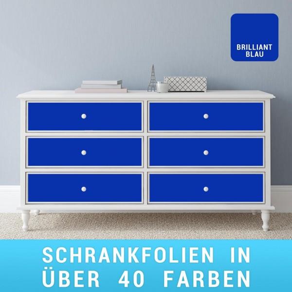Schrankfolie brilliantblau
