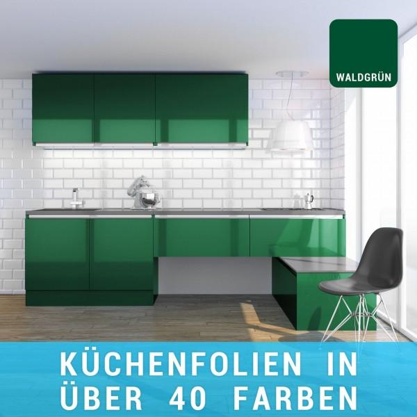 Küchenfolie waldgrün