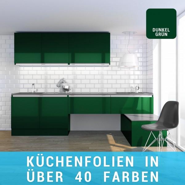 Küchenfolie dunkelgrün