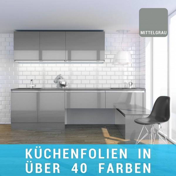 Küchenfolie mittelgrau
