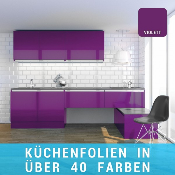 Küchenfolie violett