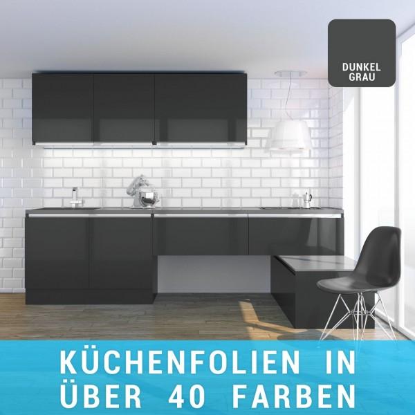 Küchenfolie dunkelgrau