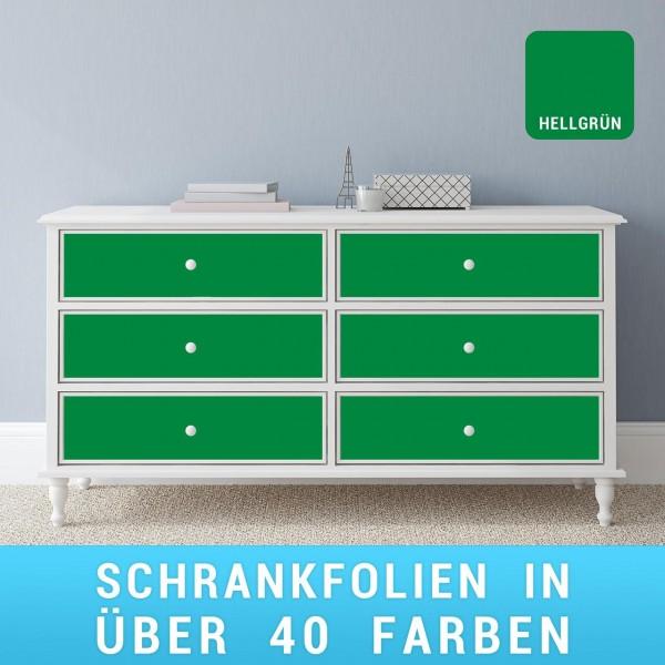 Schrankfolie hellgrün