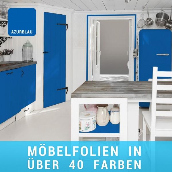 Möbelfolie Azurblau