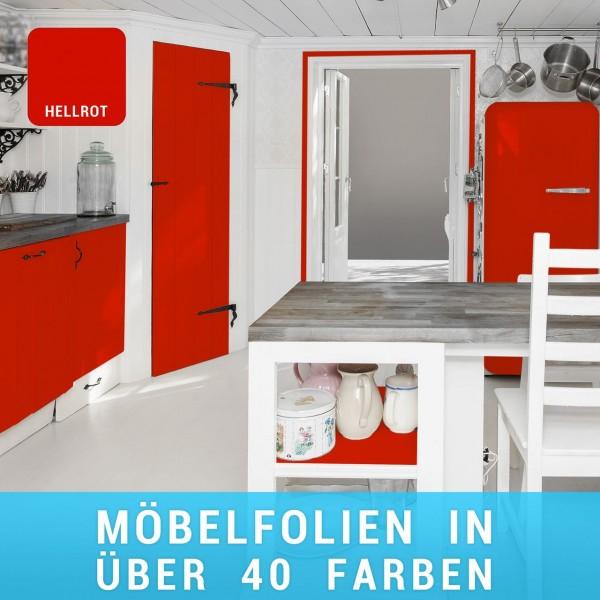Möbelfolie Hellrot